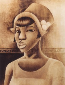 "Miguel Covarrubias: ""Black woman"", 1927."